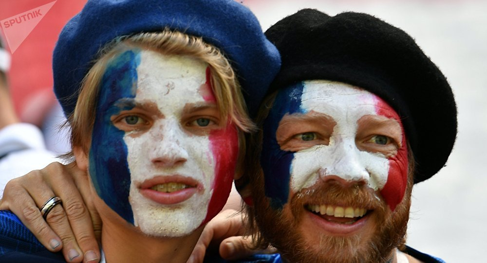 Fans français au Mondial 2018