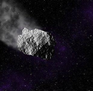 Un astéroïde, image d'illustration