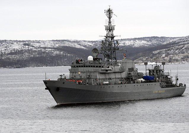 Le navire de reconnaissance Iouri Ivanov