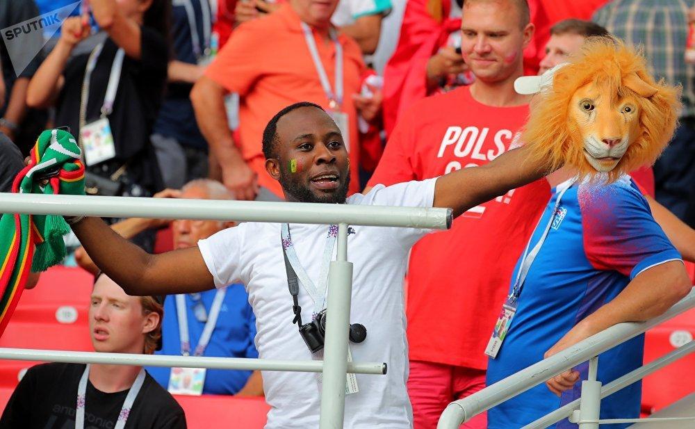 Un fan des Lions du Sénégal