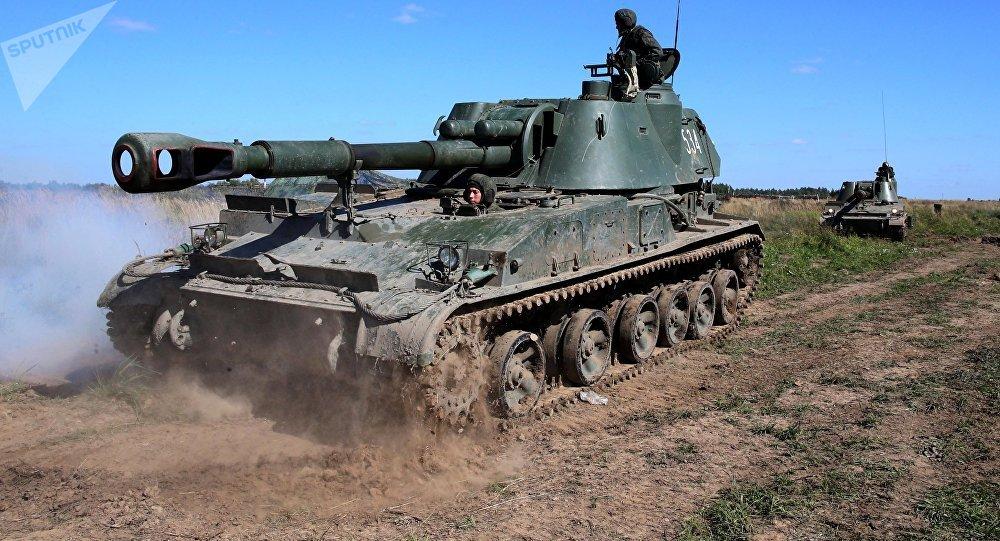 Exercices militaires russes à la frontière entre la Russie et la Lituanie