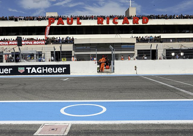 Le circuit Paul-Ricard. Photo d'archive