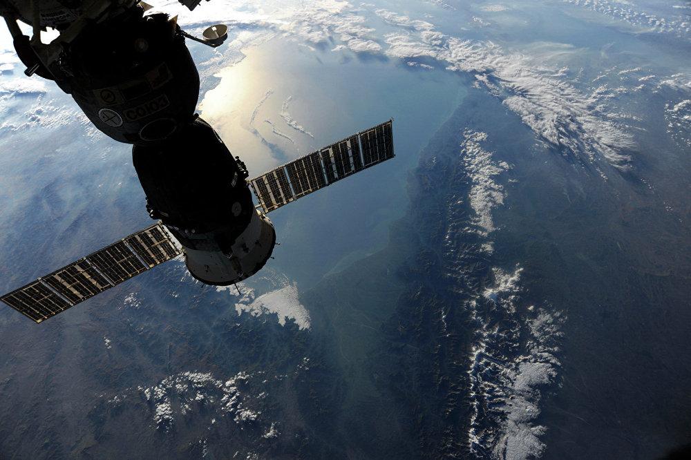 Крым из космоса. Над Черным морем