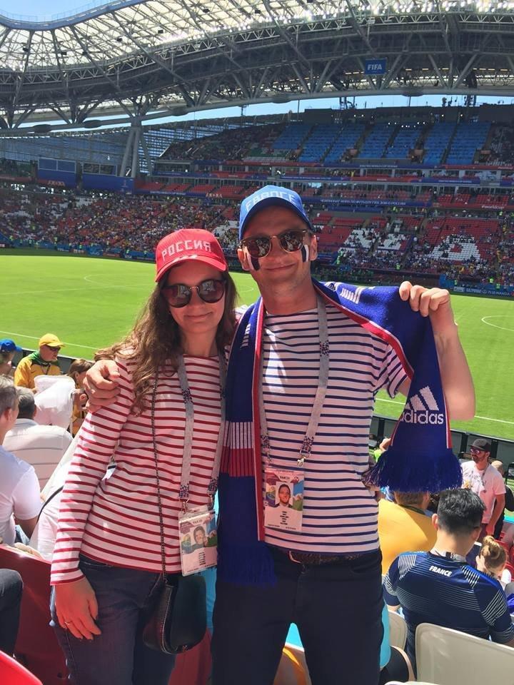Marc et Victoria à Kazan