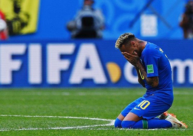 Neymar, le 22 juin 2018
