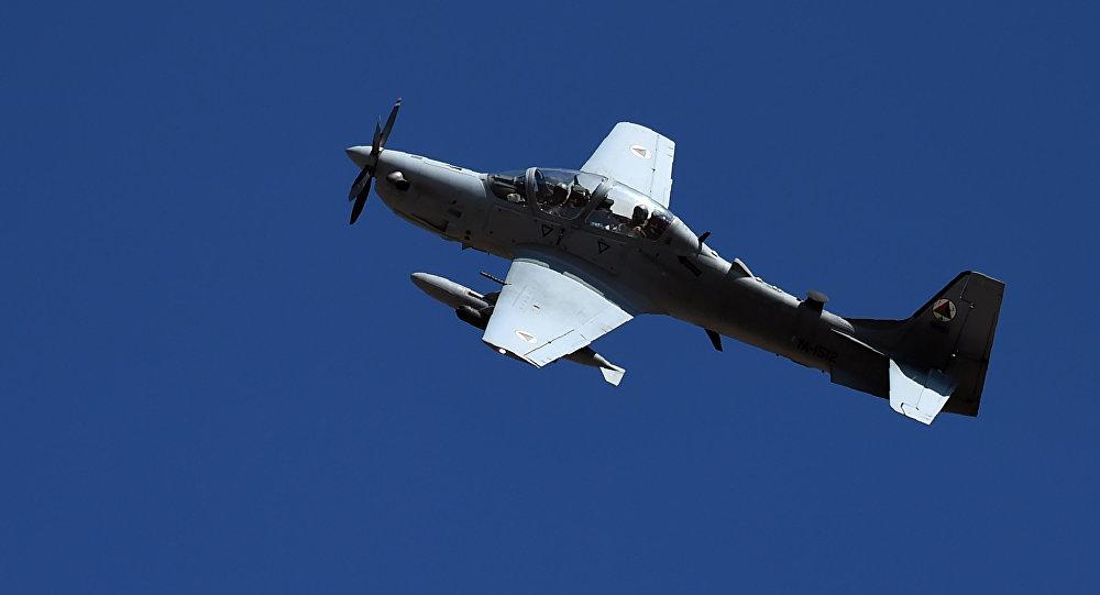 Un  A-29 Super Tucano (image d'illustration)