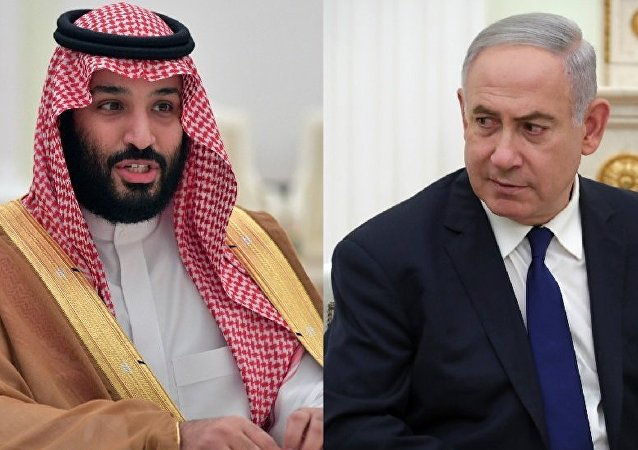 Benjamin Netanyahu et prince saoudien Mohammed ben Salmane Al Saoud