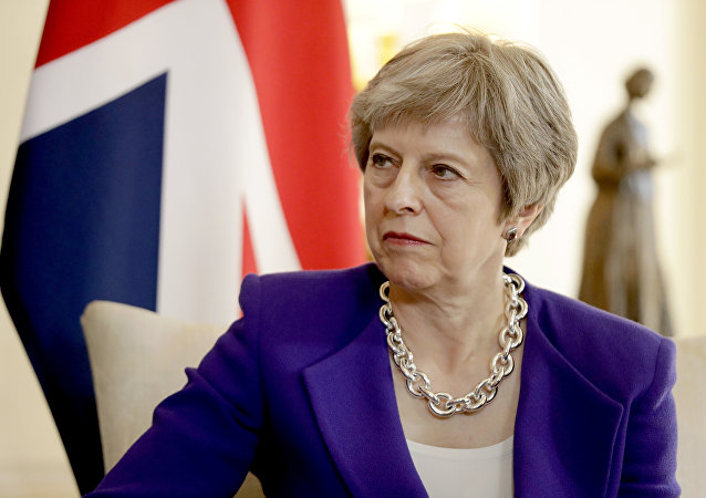 Theresa May. Photo d'archive