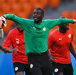 Un entraînement des Sénégalais