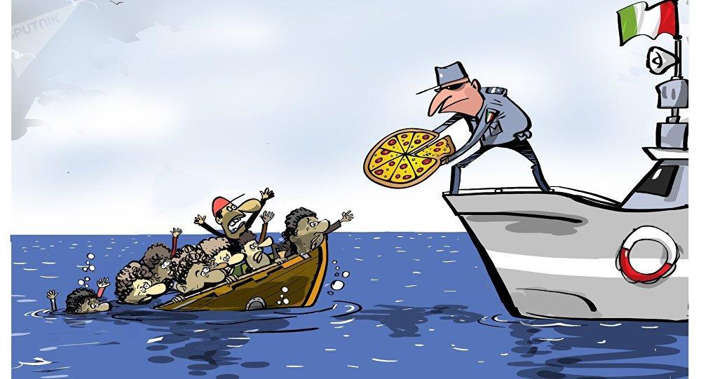 L'Italie interdit aux navires d'aider les réfugiés en détresse