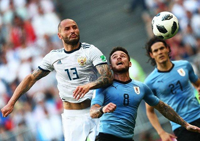 Match Uruguay-Russie: la Sbornaya battue sur le score de 3 à 0