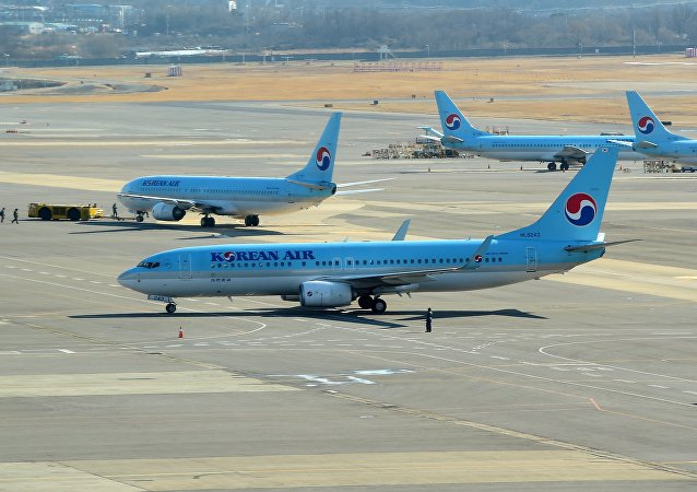 Des avions de Korean Air