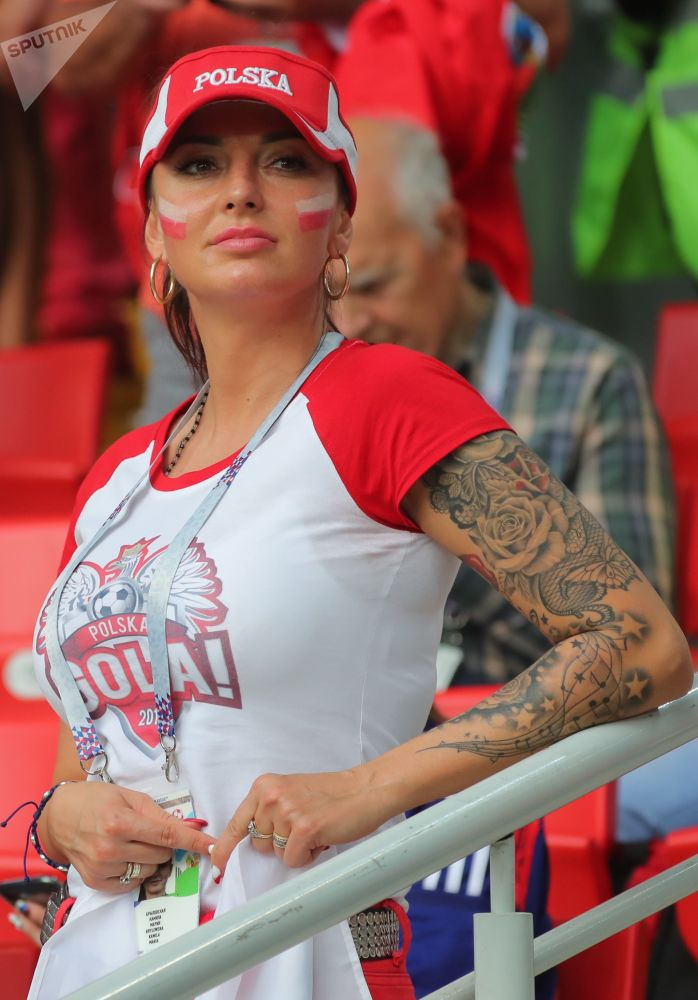 Les supportrices lors de la Coupe du Monde de football 2018