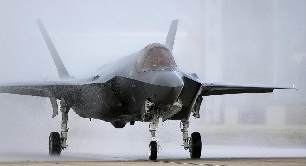 Le chasseur américain F-35