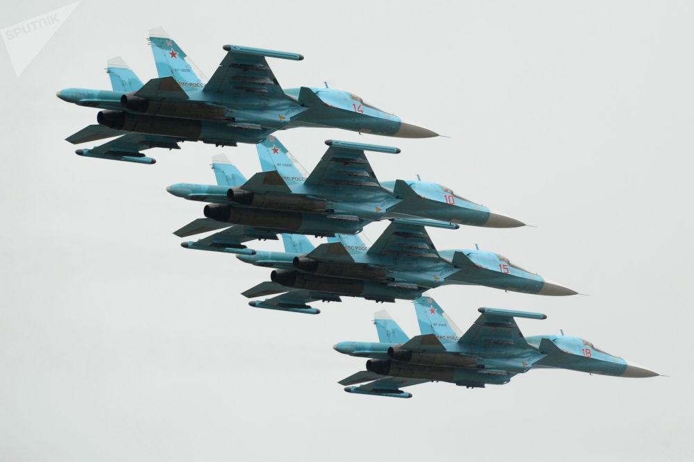«Caneton infernal»: le Sukhoi Su-34 reconnu meilleur bombardier tactique au monde
