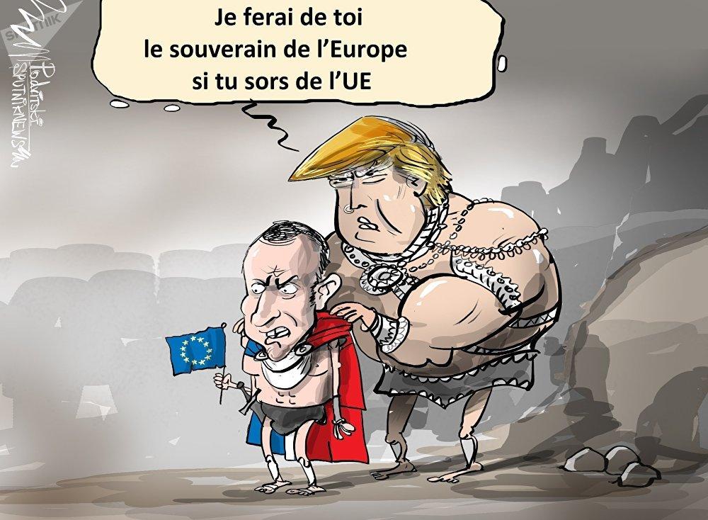 The Washington Post: Trump aurait proposé à Macron de quitter l'UE
