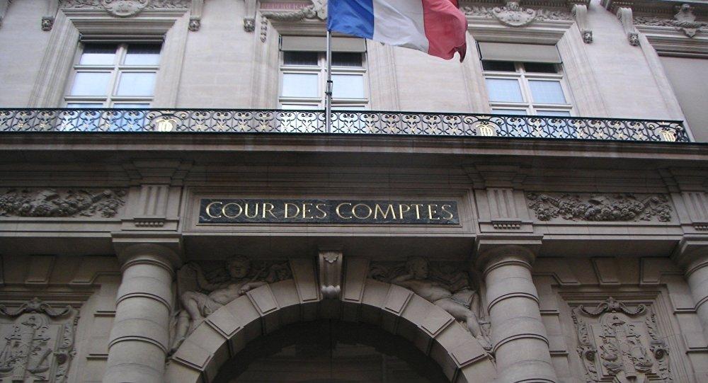 Entrée principale de la rue Cambon à Paris.
