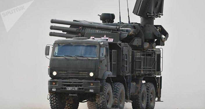 Le Pantsir-S1, la version de base du Pantsir-SM