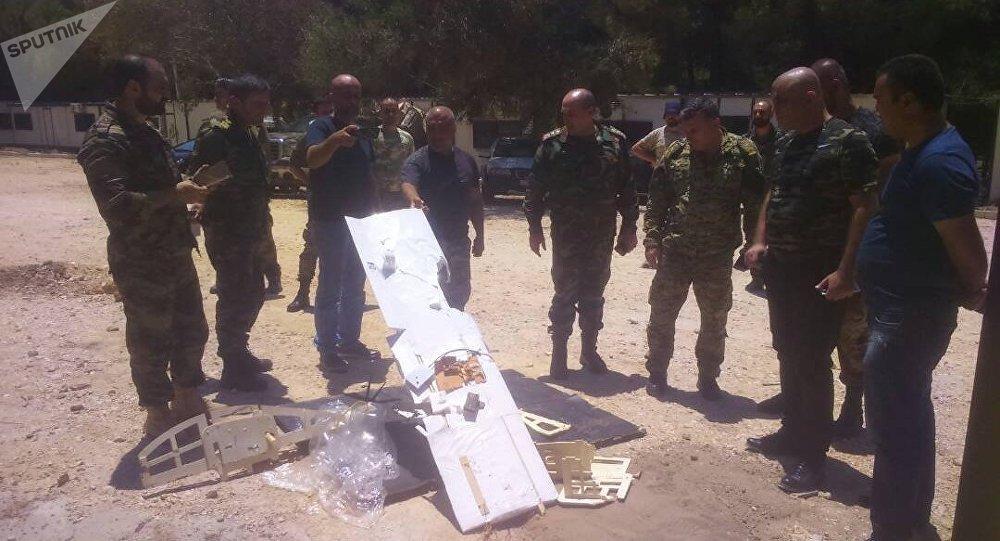 Drones abattus près de la base de Hmeimim, image d'archive