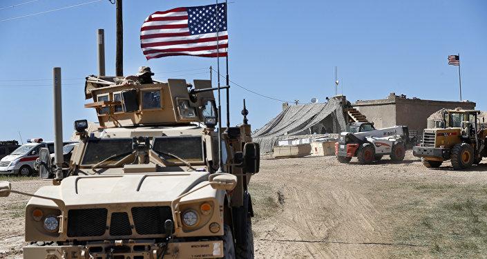 Militaires américains en Syrie (image d'illustration)