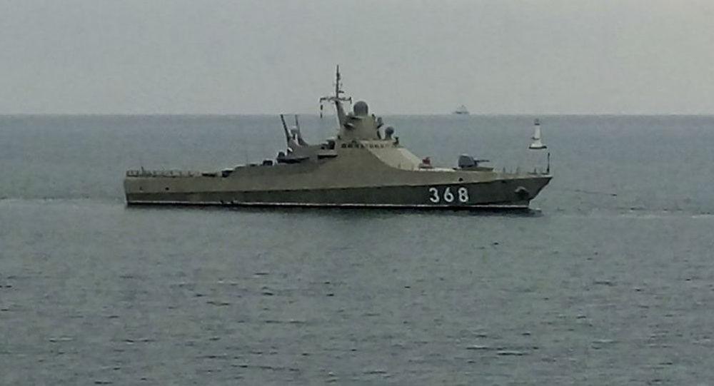 Patrouilleur russe Vassili Bykov (corvette du projet 22160)
