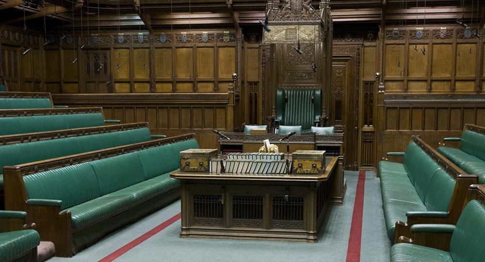 La salle de la Chambre des communes