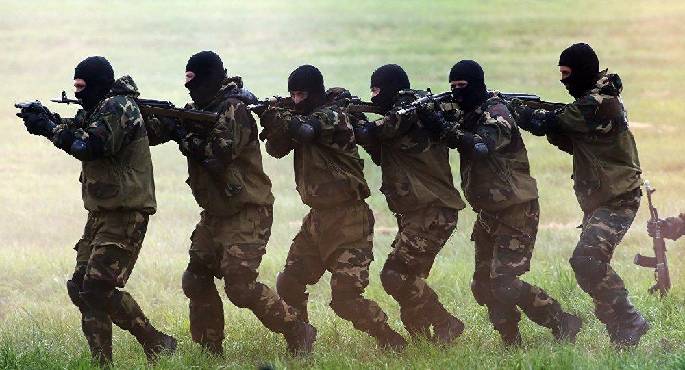 Des spetsnaz russes