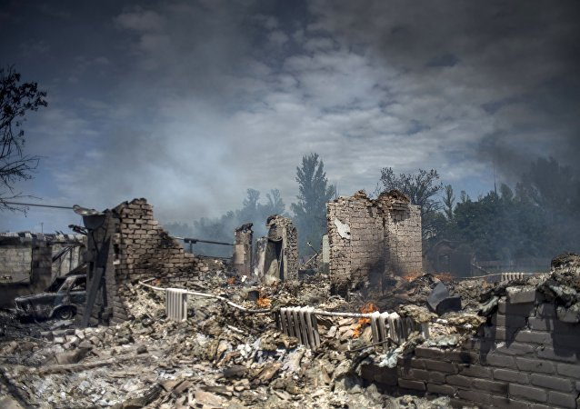 Situation dans le Donbass en 2014, archives