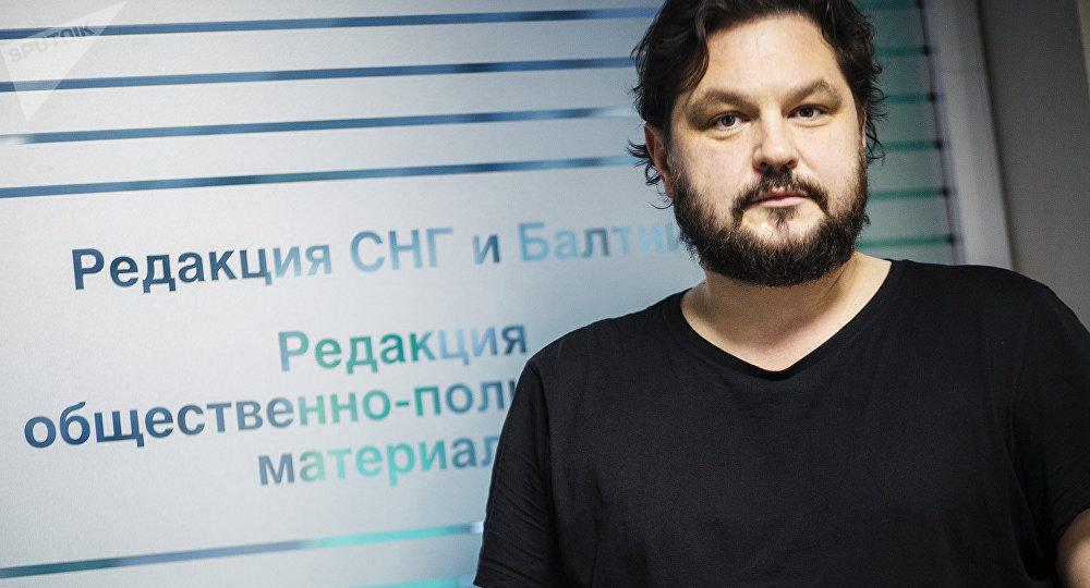 Valentins Rozhentsovs, rédacteur en chef de Sputnik en Lettonie