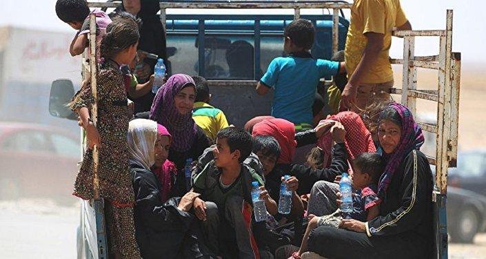 Réfugiés irakiens (archives)