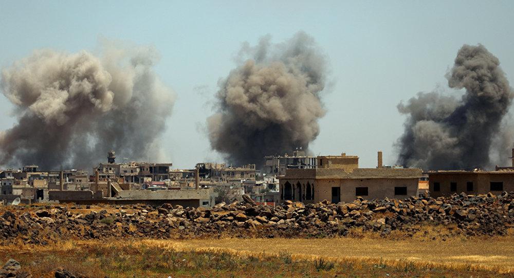 Deraa, Syrie