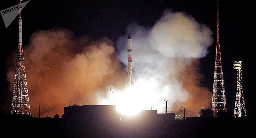 Lancement de la fusée Soyouz-2.1a