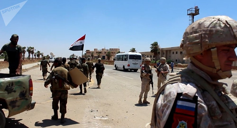 Moscou annonce la fin de l'évacuation des terroristes de la province syrienne de Deraa