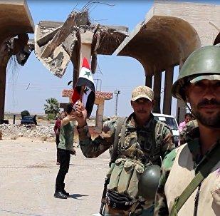 Militaires syriens à Deraa