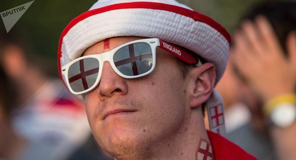 Un supporteur anglais