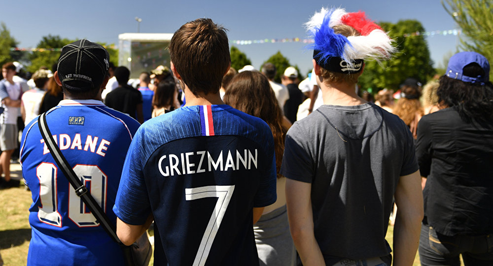 des supporters français