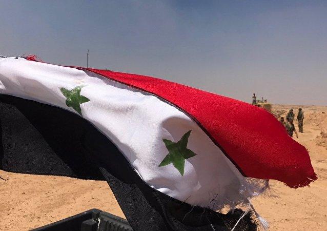 La frontière syrienne avec la Jordanie