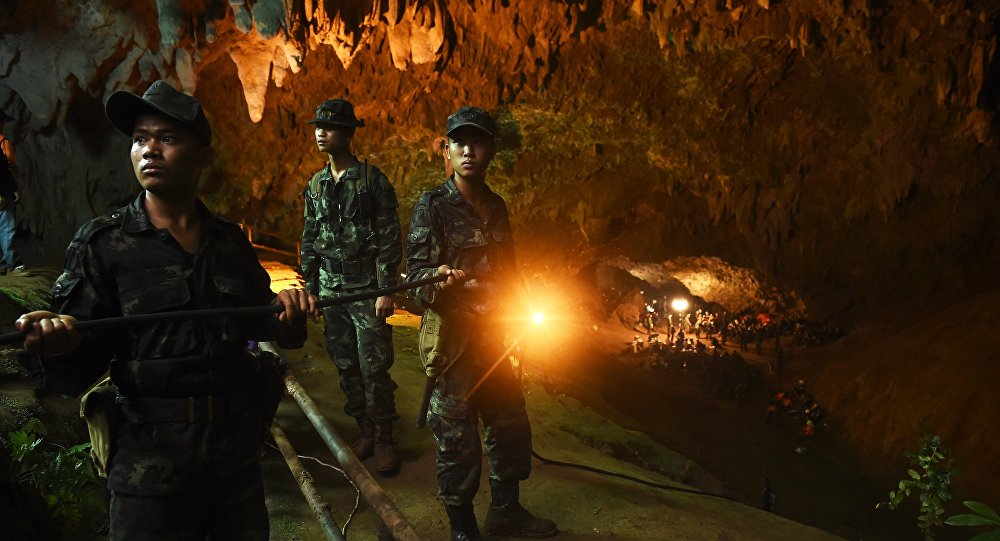 Le sauvetage des enfants bientôt adapté à Hollywood — Grotte en Thaïlande