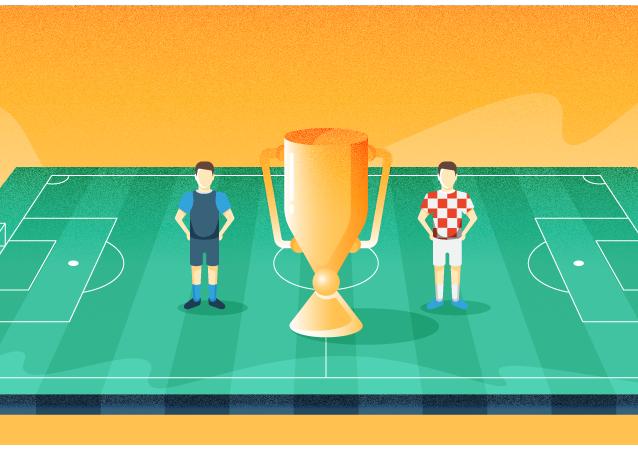 Le parcours des finalistes dans le tournoi de la Coupe du Monde de football 2018