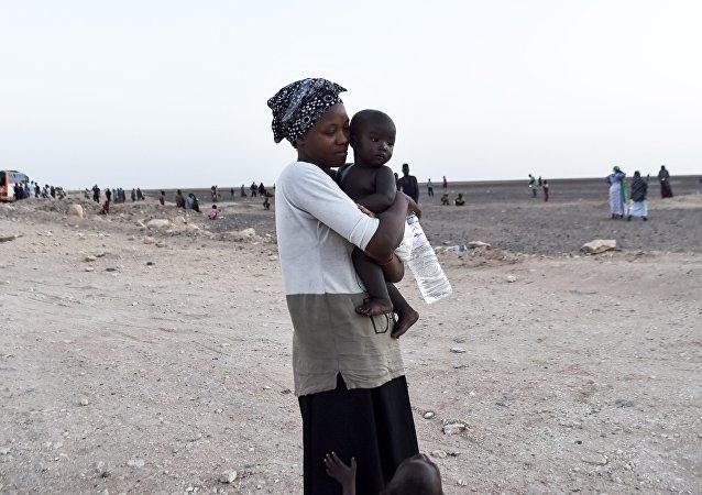 réfugiés africains, image d'illustration
