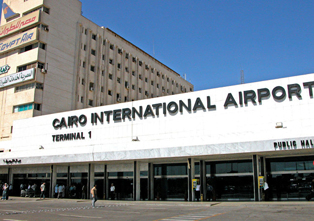 Aéroport du Caire, image d'illustration