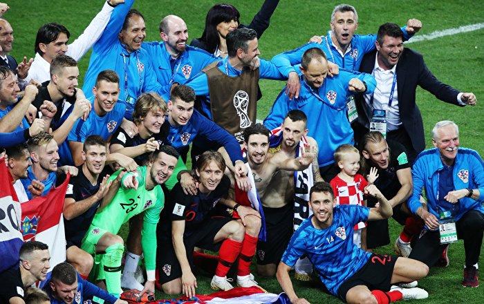 La croatie en finale de la coupe du monde r sultat jamais atteint en ex yougoslavie sputnik - Coupe du monde resultats ...