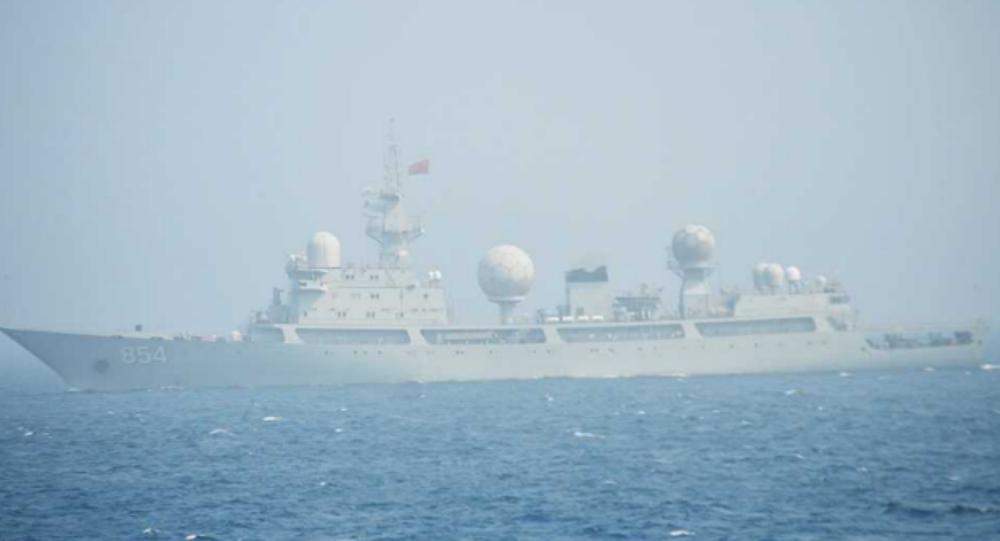 Un navire de surveillance de la classe Dongdiao
