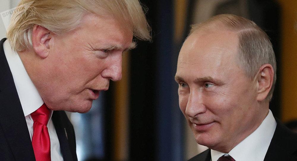 Donald Trump admet l'ingérence des Russes dans la présidentielle 2016!