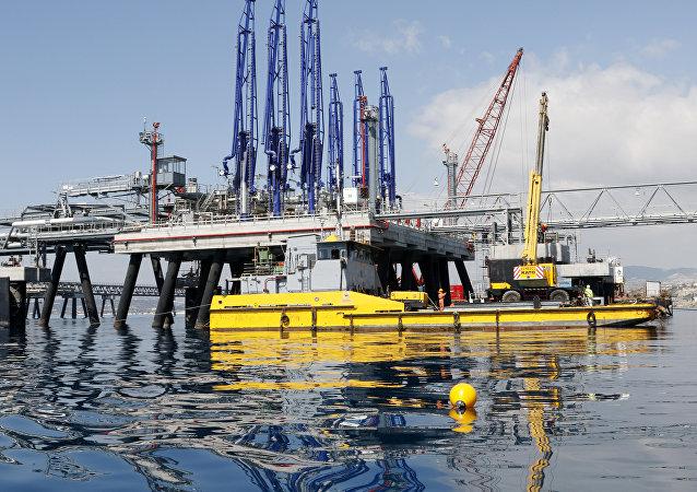 Un réserve de pétrole