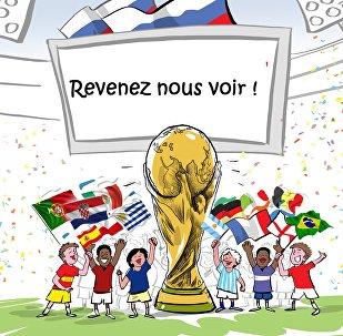 Fin de la Coupe du Monde