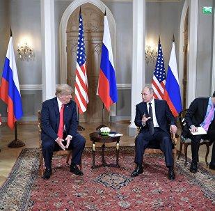 Donald Trump et Vladimir Poutine à Helsinki