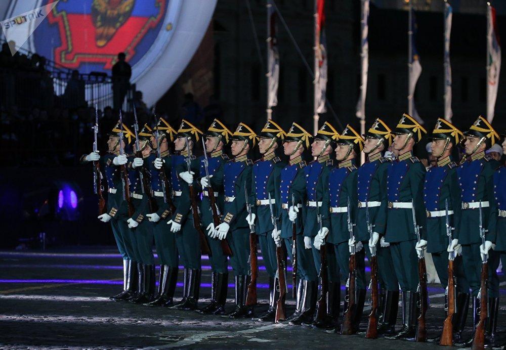 Soldats de la garde présidentielle