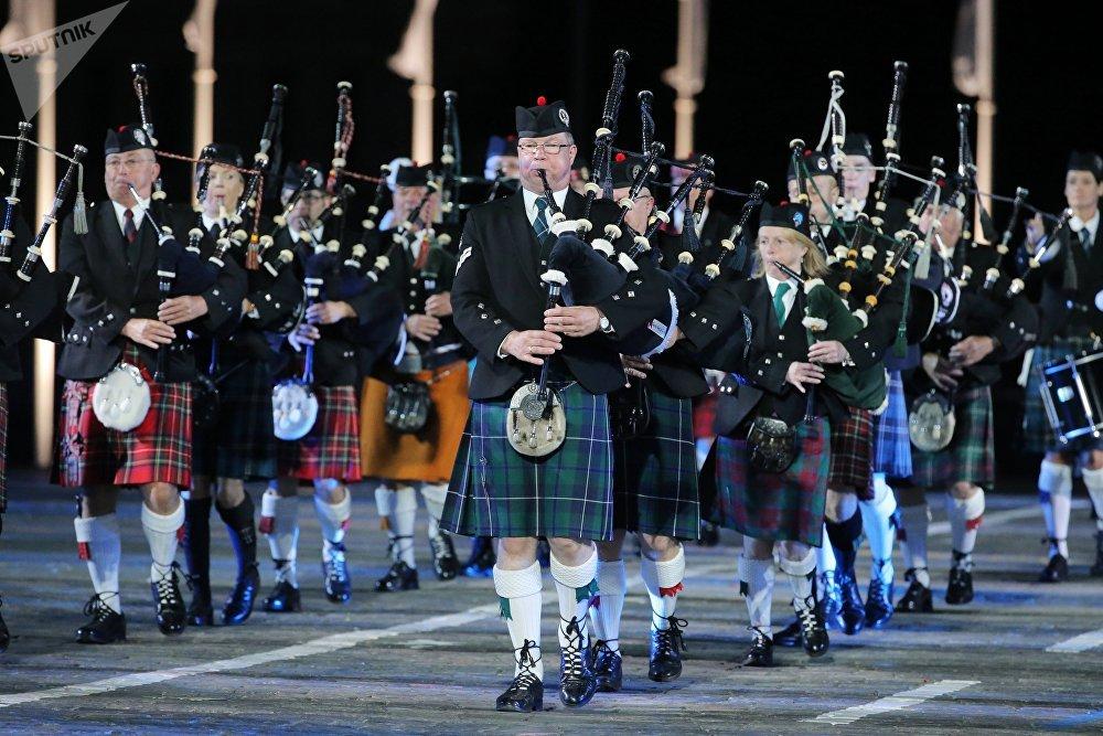 L'orchestre celtique au festival Tour Spasskaïa