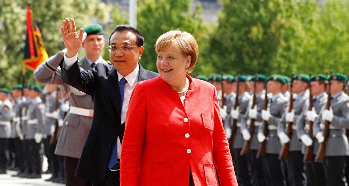 Angela Merkel et Li Keqiang